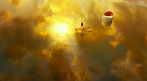 Stunning shot from Life of Pi movie