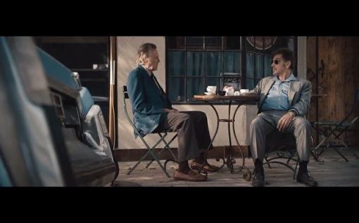 Stand Up guys movie acene Al and Walken talking