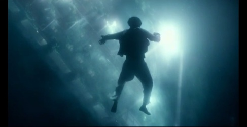 underwater shot in movie Life of Pi